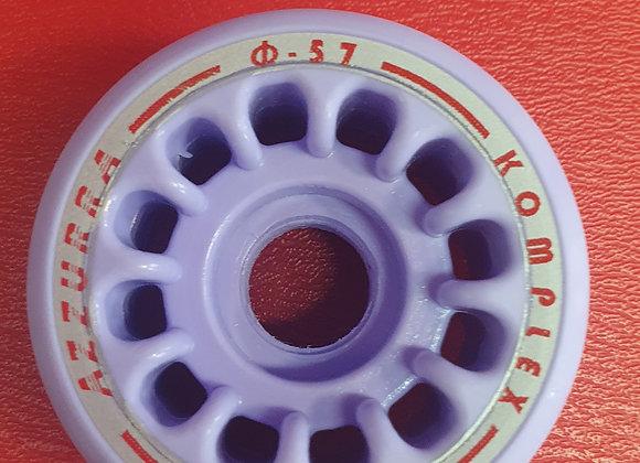 SET 8 RUOTE AZZURRA HD 46 DIAMETRO 57