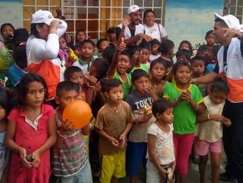Amor sem fronteira: no dia mundial do refugiado crianças recebem tarde de recreação