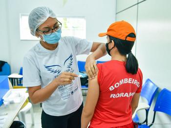 Covid-19 em pauta: prefeitura de Boa Vista inicia vacinação de profissionais de forças de segurança