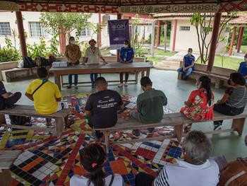OIM realiza roda de conversa entre indígenas sobre saúde e prevenção à COVID-19