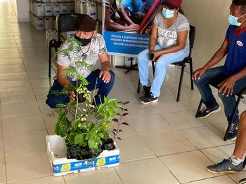 PADF realiza oficina de biofertilizantes para indígenas venezuelanos em Boa Vista