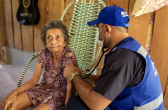 OIM beneficia mais de 15 mil brasileiros com ações de combate e prevenção à COVID-19