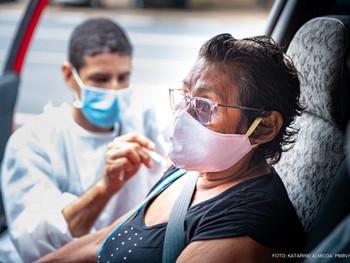 Covid-19 em Pauta: Prefeitura de Boa Vista começa a vacinar idosos a partir de 63 anos