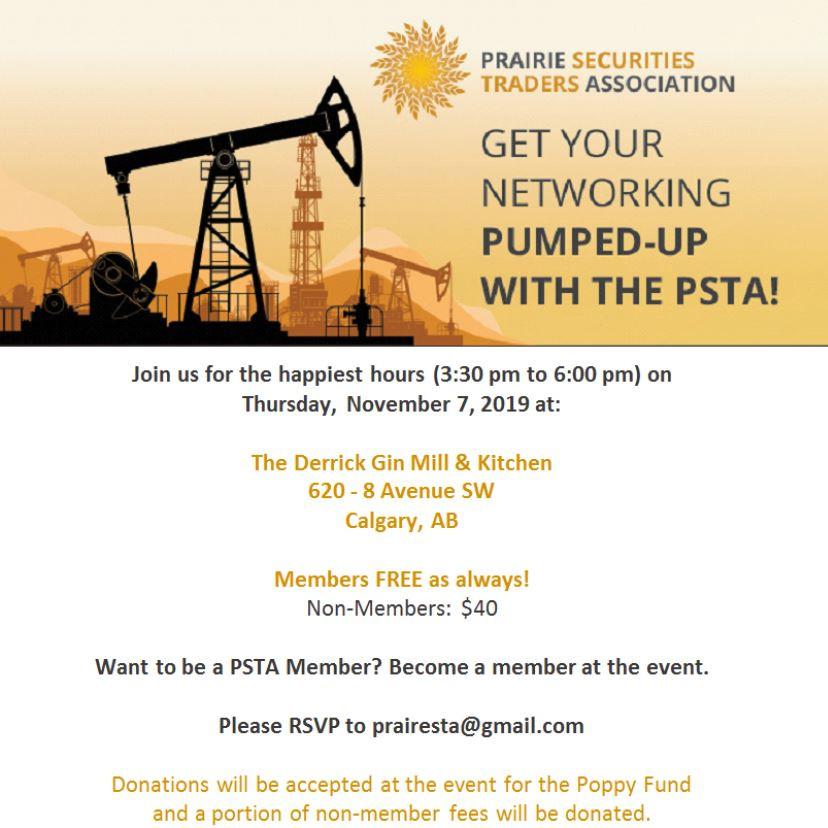 PSTA Event - Nov. 7, 2019!