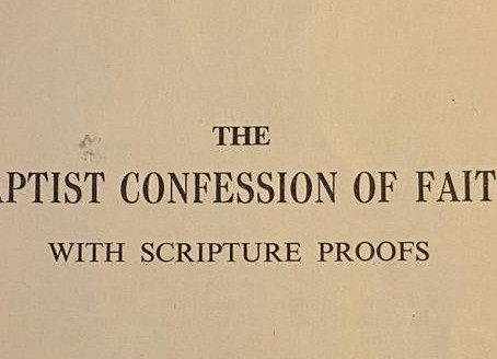 RECOVERING THE 1689 CONFESSION
