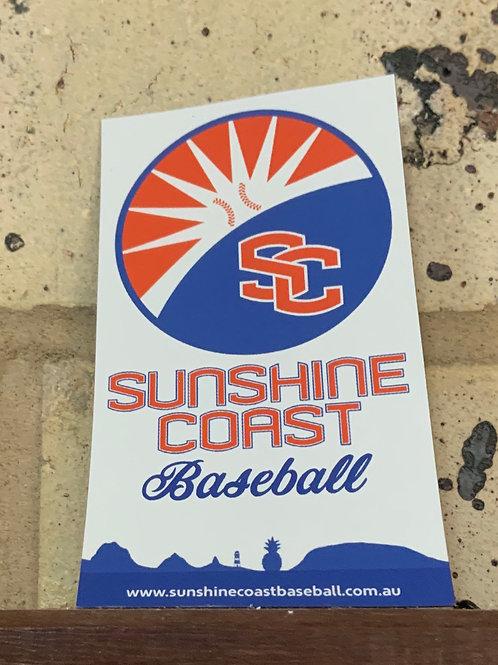 Sunshine Coast Baseball Fridge Magnet