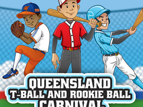 Queensland T-Ball and Rookie Ball Carnival - April 2021