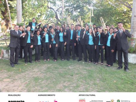 Orquestra de Sopros de Pindoretama tem apoio da SECULT-CE em 2020