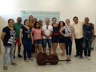 Sinfonia.br forma monitores de cordas friccionadas em Fortaleza