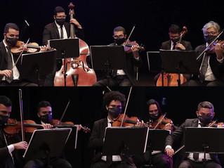 Concerto da Orquestra Contemporânea anima manhã de domingo