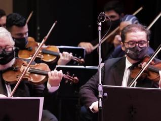 Concerto da OCB atraiu admiradores na manhã de domingo