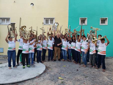 Escola de Música de Pindoretama abre vagas para novos estudantes