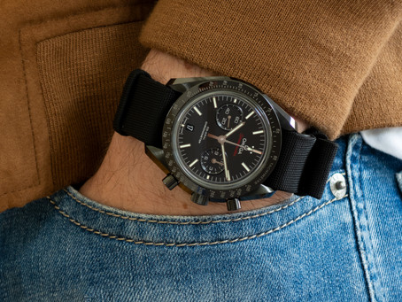 Owner's Review #4 : The Omega Speedmaster Dark Side Of The Moon
