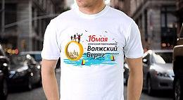 футболка с логотипом и надписью