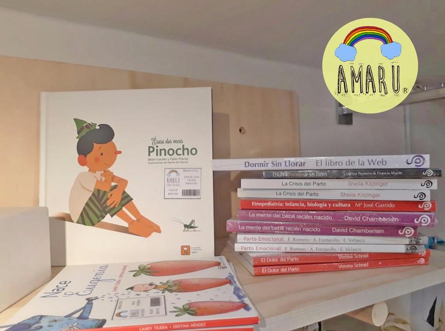 Un mundo de letras en nuestra tienda Amaru