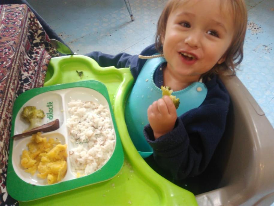 BLW, ¡cuando tu bebé descubre los alimentos!