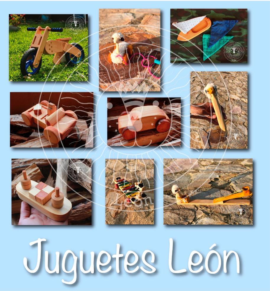 Corazón de León: Juguetes de madera para sentir, aprender e imaginar jugando