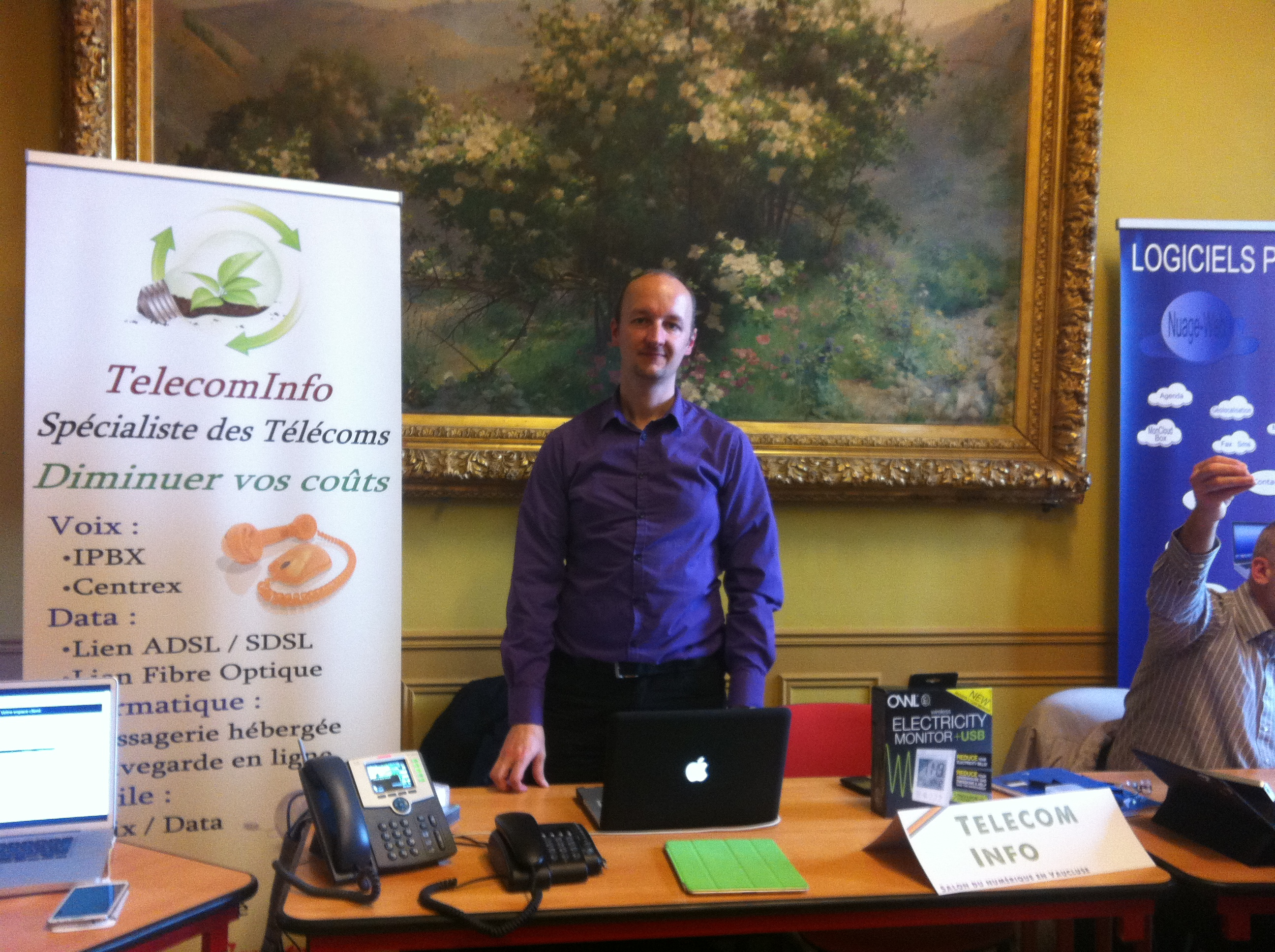 Stand Salon Numerique TelecomInfo