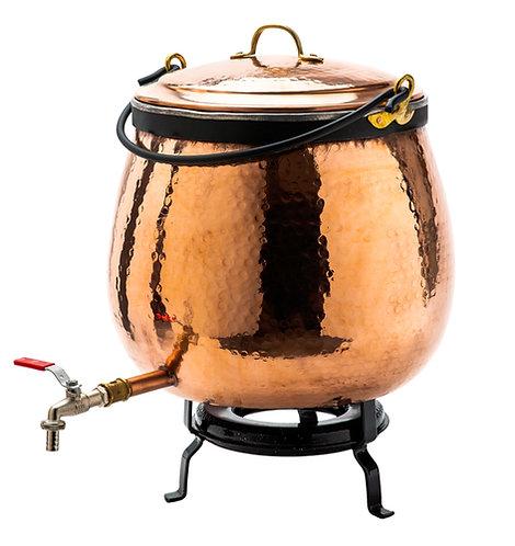 Chaudron à vin chaud - 80 litres