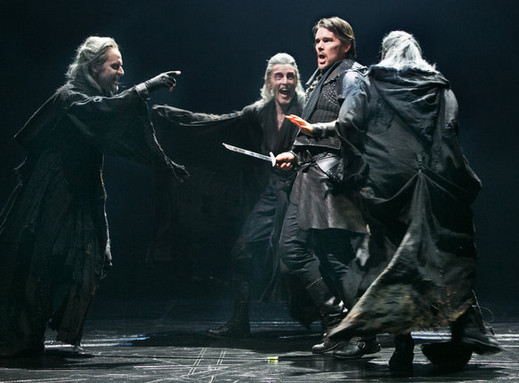 """The Three Witches, """"Macbeth"""", Lincoln Center"""