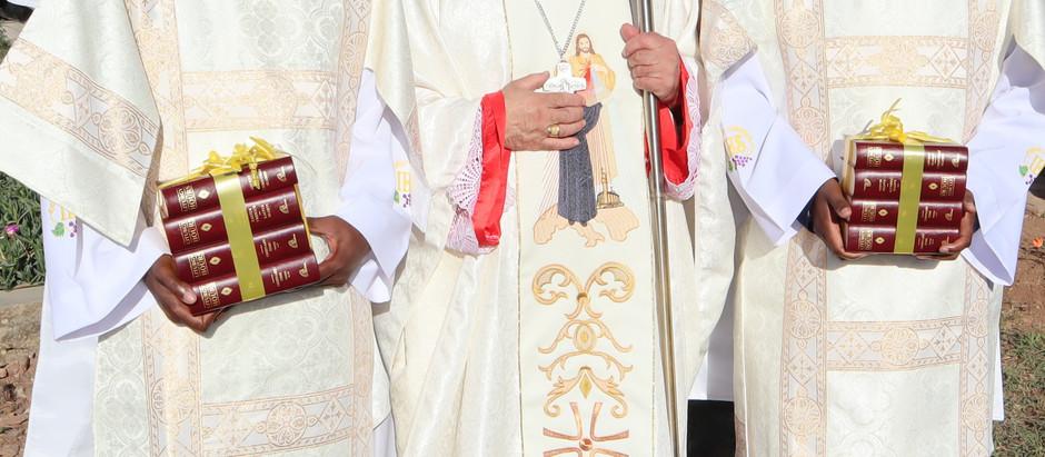 Priestly Ordination of Mehluleli A Dzanibe & Siyabonga H Nombika on 16 Dec. 2019 at 10:00