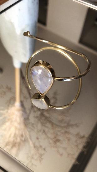 Moonstone solo bracelet