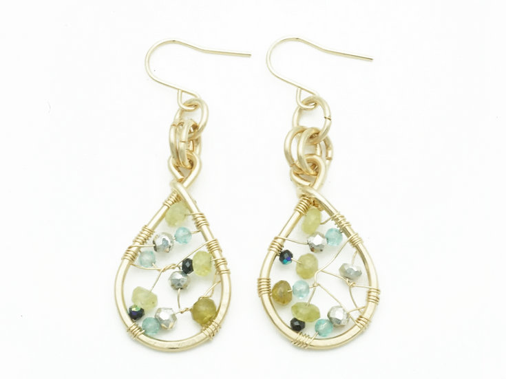 GEM CATCHER EARRING