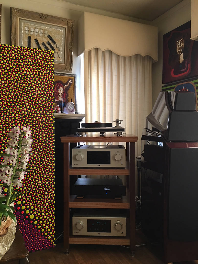 I had been looking for an affordable audio rack that I could live with for many years. I did not really like the uber expensive acrylic carbon fiber and stainless steel type racks, the style was just too audiophile geeky. I wanted something that would do what I need but look fantastic and fit into the aesthetics of my home. I have my equipment in the living room and not a basement, garage or dedicated listening room. I was searching on the internet and came across Core Audio Designs and was really excited about what I saw and read about their wooden audio racks. For the heck of it, I called Core Audio Designs to inquire about the racks. Amazingly, Arnold Marr, the owner, answered the phone. He was very knowledgeable about everything audio and really gave me a lot of information on how to improve my systems sound. I have 93 year old wooden floors and at times my turntable would skip when walking in front of my audio rack. After searching for a couple more weeks, I could not find anything that could even come close to what I saw from Core Audio. I went to an audio store that had a Core Audio rack on display, liked what I saw and bought a plyKraft 4L rack in walnut, which was built after I ordered it. I e-mailed Arnold Marr to tell him I ordered a Core Audio Designs rack. He kept me updated on the progress of building the rack with photos, very impressive. Arnold was extremely passionate and detailed about his work and products and it really shows in the quality of the workmanship of the racks. I now have this beautiful audio rack in my living room that really looks great. It is fairly heavy and solid at almost 200 pounds. This solved my problem of turntable skips when walking and has achieved everything I wanted to achieve in an audio rack. It is well built, amazingly affordable, solid, beautiful, looks fantastic in my room and has improved the sound of my system. You really have to see one of these racks in person to see how well they are made and how beautiful they 