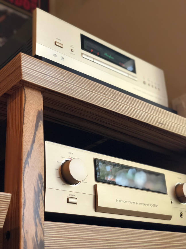 """""""Mark Wong I am 35 years being an Audiophile. I have owned over a dozen AV Racks. Core Audio Designs is the """"Gold"""" standard in Finish, Engineering and Service. Do NOT hesitate to procure this product. Its mandatory.""""  Pt.2  I cannot thank you enough how appreciative I am. The stands exceeded my expectations. I have included a small token of my gratitude. Use this and carry this tool everyday. Your service and knowledge is very """"important"""" to me. You did a hell of job today, My man. I GET IT, BIG TIME. The Fricking Rack and system looks so TRICK!  Duh!!!!!!!!!, what did Fremer and Dudley say 25 years ago, isolation and power is the backbone of being an Audiophile.  We all started with Billy Bags, Salamander, BDI  we all have to grow up!  Now... I am with Core Audio Designs, the Porsche of AV Racks!!!  Pt.2 Arnold:  We are confirmed for Rennsport on 9/27 to 9/30/18.  Mark your calendar!  Just in case, I got us a suite in Carmel for Saturday, 9/29.  I figured Sunday is a Zoo, so being close will be nice.  Another Bad Ass Marr/Wong Event to attend in 2108!!!  You will shit on how cool this is!""""      Mark Wong Menlo Park, CA"""