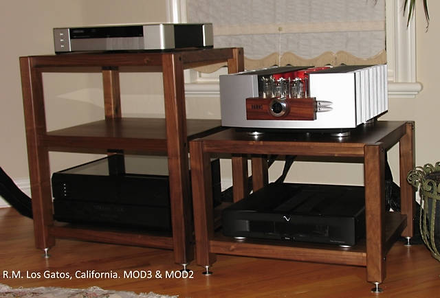 Arnold - i just got through assembling my new plyKRAFT stand and i had to sit down and right this before senior moments take over!  I just can't express how much i value and appreciate your product and your personal professionalism.  The stand is incredibly beautiful and beautifully engineered . . . and the packaging is just over-the-top gorgeous and first class. Everything about you and your product is first-class, top tier, and reflects your meticulousness (sp?), care and attention to details.   I'm actually upset that you sent me a replacement Mod1 shelf, despite my saying that i'm just fine with my other stands.  That was above and beyond . . . . another over-the-top action that just underscores what i've said above.  I'd like to ask you for your materiel costs so i can at least reimburse you for that?? But i know you will not oblige . . . then I have half a mind to send you a check . . . . but i know you won't cash it.  That's just the kind of individual you are.  I wish you continued success in your business . . . you deserve it and more . . .  I'm not sure i will have a need for more audio furniture, but if i do, you can count on my business . . . and i will certainly urge any friends and colleagues who may be in the market to do the same.  Oh, and the letter opener is soooo special . .  i don't know what to say except a million thanks.  My Warmest Regards,  Rick