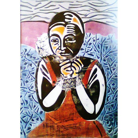 Mapuchita y lágrima