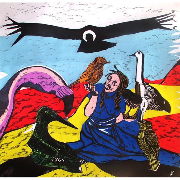 Pepita Cabrona y sus amigos con alas que siempre son felices