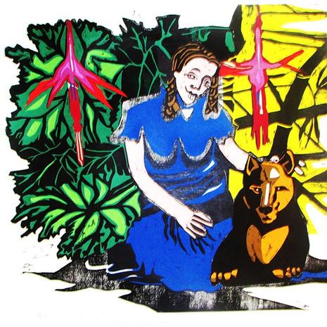Papita Cabrona y su amigo Nahuel último desu especie