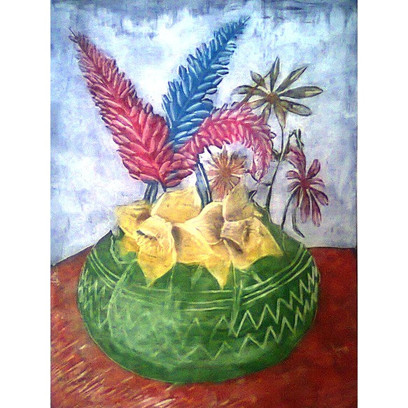 Jarron con flores II