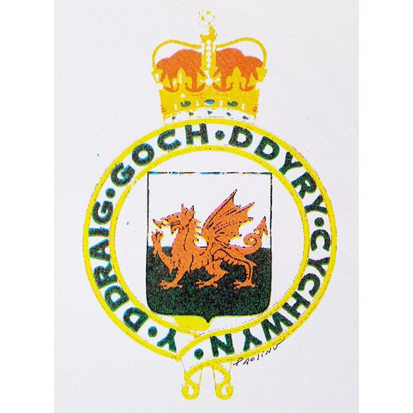 Escudo galés