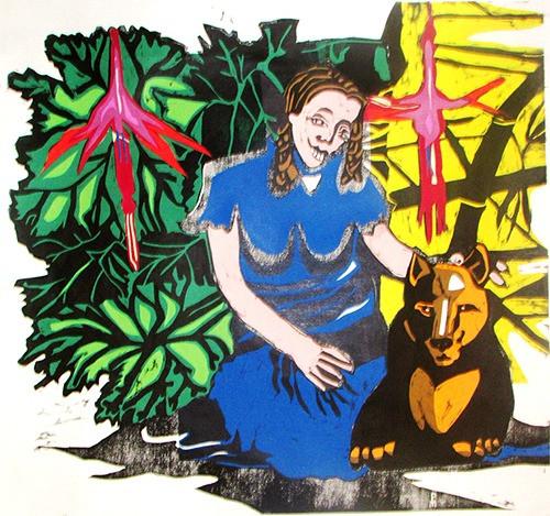 Pepita cabrona y su amigo Nahuel