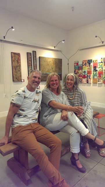 Lore Schmidts, Donna Stewart & Charly Mithrush