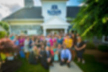 The entire staff of Verber Dental Group on opening day of Rother Dental in Mechanicsburg, Pennsylvania.