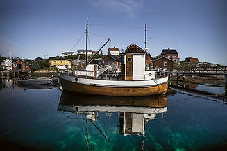 Fiskebåt i Mausundvær