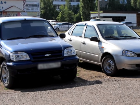 Незаконные парковки в Салавате