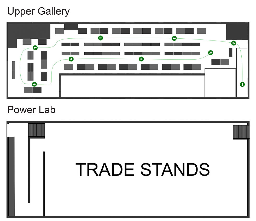 Only Clay - Upper Gallery and Power Lab -  2021 54 Stalls & TRADE STANDS.jpg