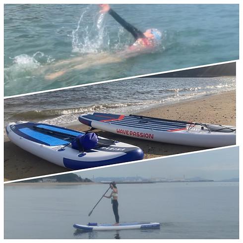 海遊びチケット!海練習&SUP de水上さんぽ