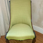 Upholstery of a chair