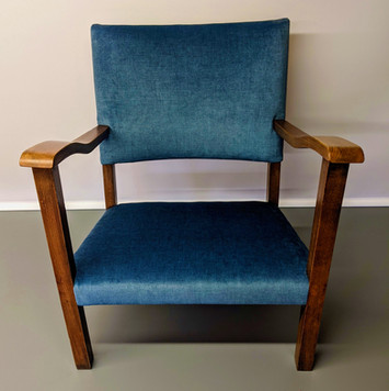 Blue Chair is ina Weymss - Fiora Ocean