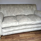 Upholstery of 2 seater sofa in the Warwi