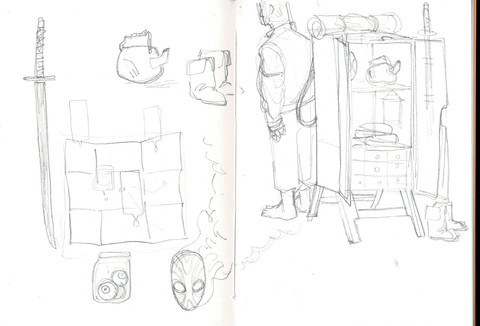 Sketches & process