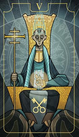 V the high priest