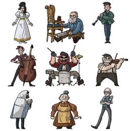 Tikkun - Character Design