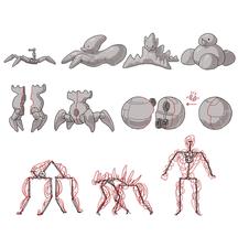 iNkondi - form and theme exploration