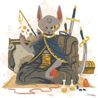 The Cat Merchant